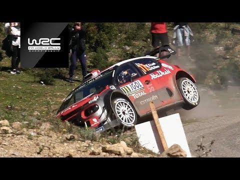 WRC - Rally Córcega / Top 5 Highliths