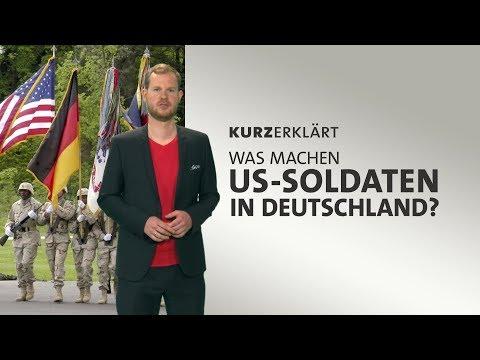 Was machen US-Soldaten in Deutschland?