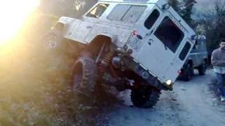 assetto trial herero land rover defender!    chiometta norcia