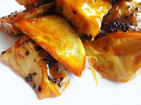 Korean Recipe: How to Make a Candied Sweet Potato Dessert – Pottetto – Matang – 마탕