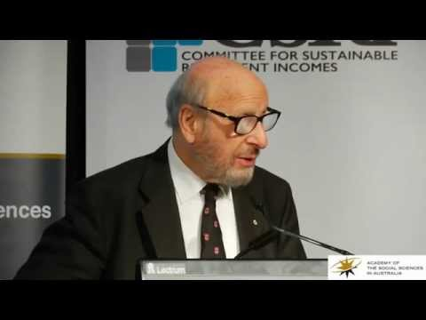 View Peter Karmel Forum 2015- Creating an Overarching Retirement Income Policy Framework video