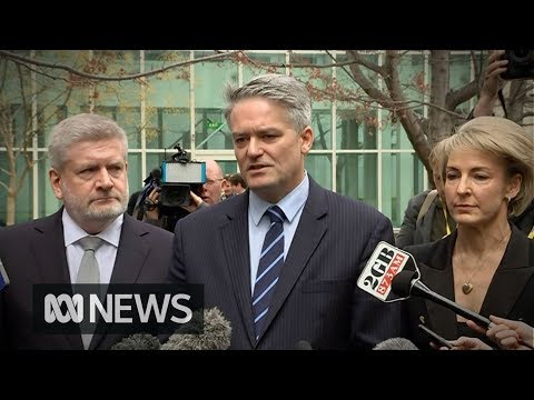 Cormann tells Turnbull its time to resign