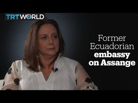 Former Ecuadorian ambassador to UK speaks on Julian Assange