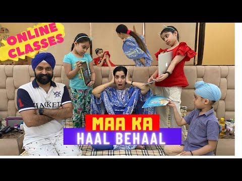 Online Classes - Part 3 - Maa Ka Haal Behaal  | Ramneek Singh 1313 @RS 1313 VLOGS @RS 1313 SHORTS
