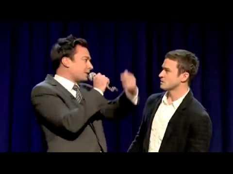Jimmy Fallon & Justin Timberlake History of Rap 1 & 2 - YouTube
