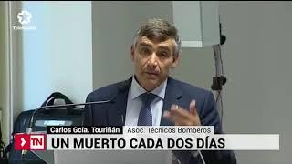 Aumenta un 22,4% el número de fallecidos por incendio o explosión en España