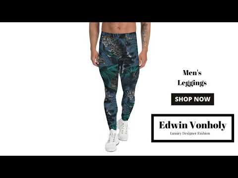 Men's Leggings | Best Workout Gym Pants Track Running Tights | Yoga Fitness Clothes … видео
