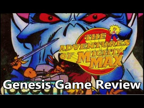 the adventures of mighty max genesis rom