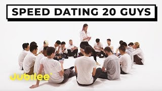 Video 20 vs 1: Speed Dating 20 Guys | Jubilee x Solfa MP3, 3GP, MP4, WEBM, AVI, FLV Maret 2019