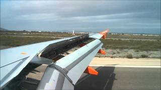 Javier Spain  city pictures gallery : Landing & descent into Murcia San Javier, Spain from LGW - EasyJet A319 [HD]