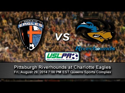 host - USL PRO, Friday night match up between the Charlotte Eagles and the Pittsburgh Riverhounds. Game starts at 7:00 PM at Dickson Field.