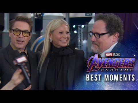 Marvel Studios' Avengers: Endgame Red Carpet   Best Moments!
