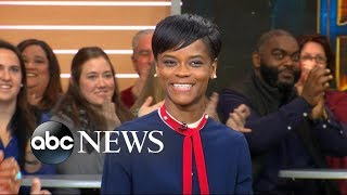 Video Breakout star Letitia Wright opens up about 'Black Panther' MP3, 3GP, MP4, WEBM, AVI, FLV Desember 2018