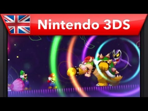 Mario & Luigi: Dream Team Bros. - E3 2013 Trailer (Nintendo 3DS) Video