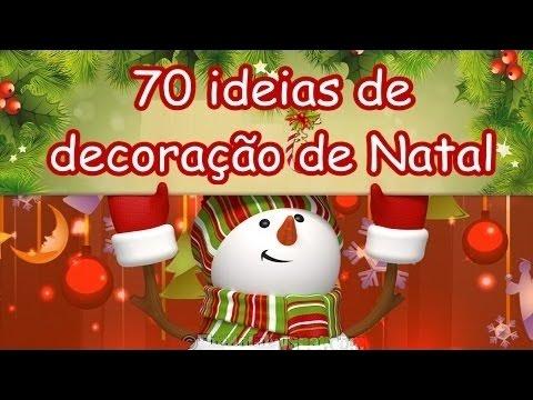 70 ideias para Natal