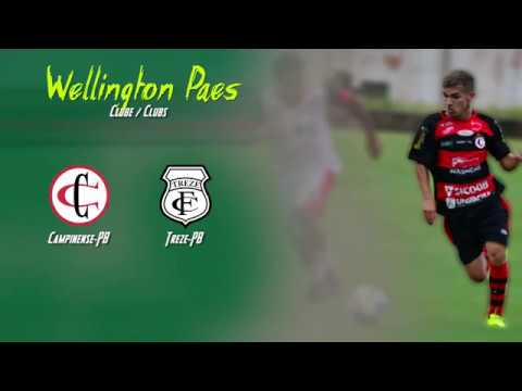 WELLINGTON PAES - MEIA ESQUERDA - LATERAL ESQUERDO