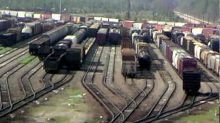 Waycross (GA) United States  city photos : Waycross Georgia's Rice Hump Yard in operation.m4v