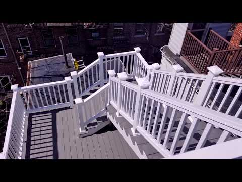 Charlestown, Boston GoPro Timelapse - Roof Deck