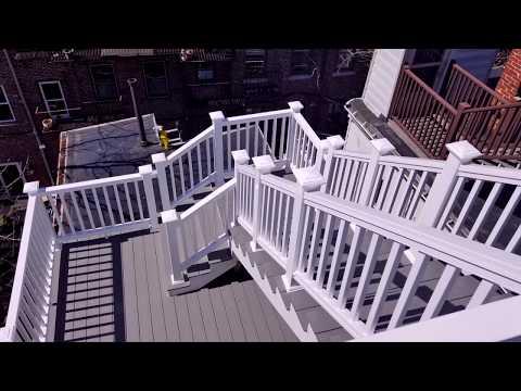Charlestown, Boston GoPro Timelapse - Roof Deck