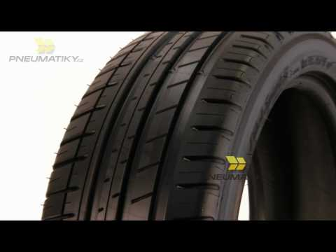 Youtube Michelin Pilot Sport 3 255/35 ZR19 96 Y AO XL GreenX Letní