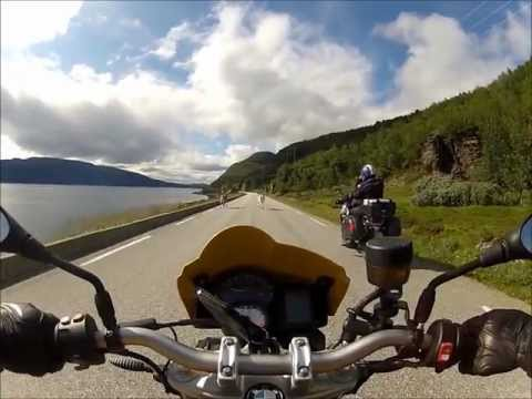 Brescia-Capo Nord in ducati monster 695 e bmw f800r