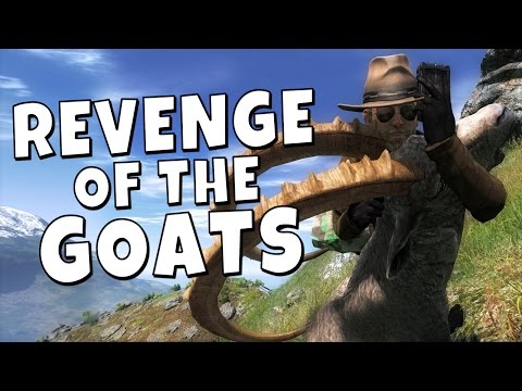 hunter - The goats are back, smarter and stronger then ever. Facebook: http://www.facebook.com/Robbazking Twitter: http://twitter.com/#!/RobbazTube Game: The Hunter 2014.