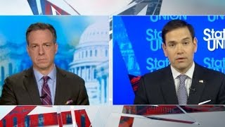Full Interview: Marco Rubio with Jake Tapper