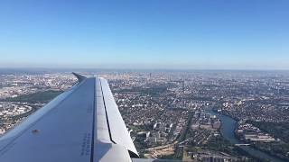 Beautiful view take off A320 from Paris(Orly)