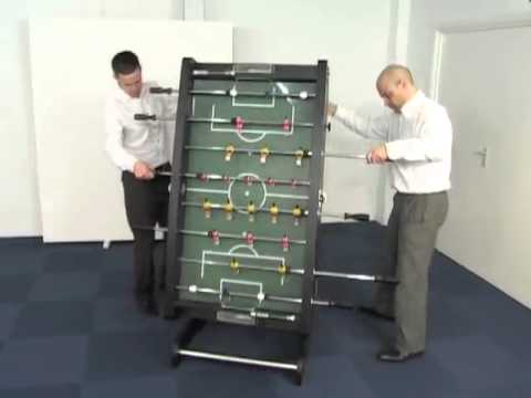 BCE HFT-5JLB Foldaway Table Football | Home Games Direct