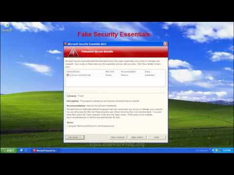 0 Fake Security Essentials Alert Removal and Analysis