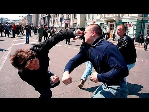 Как бить в уличной драке Убойная двойка - DomaVideo.Ru
