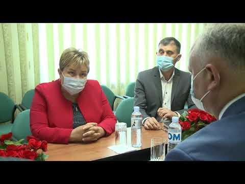 Președintele țării a avut o întrevedere cu primarii câtorva sate din raionul Criuleni