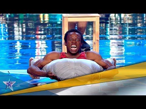 Su FLEXIBILIDAD EXTREMA le concede un PASE de ORO | Audiciones 3 | Got Talent España 5 (2019)