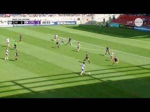 GOAL: Sydney Leroux's first goal vs. Chicago (видео)