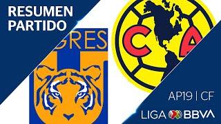 Resumen y Goles | Tigres UANL vs América | Cuartos de Final - Apertura 2019  | Liga BBVA MX