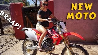 6. Syd got a new dirt bike! | 2012 Honda CRF 250 X Bike Check
