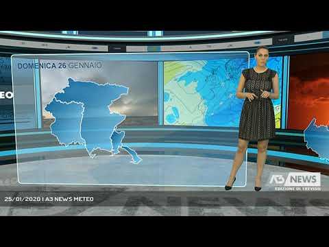 25/01/2020 | A3 NEWS METEO
