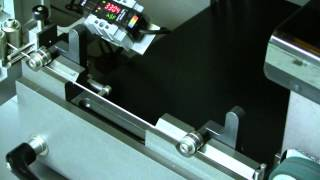 High Speed On the Fly  Laser Wire Marking System