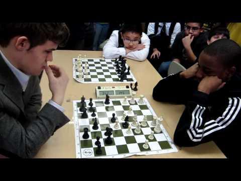 GM Magnus Carlsen vs NM James Black