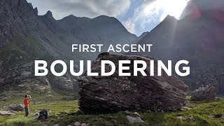 First Ascent Bouldering With Dave MacLeod by Andrew MacFarlane