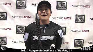 2022 Robynn Balmediano Slapper, Shortstop and Outfield Softball Skills Video - Easton Preps