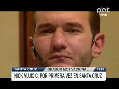 Orador motivacional, Nick Vujivic por primera vez en Santa Cruz @ RED PAT BOLIVIA