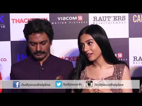 Amrita Rao, Nawazuddin Siddiqui, Along with Sanjay Raut Daghters At Screening of Thackeray