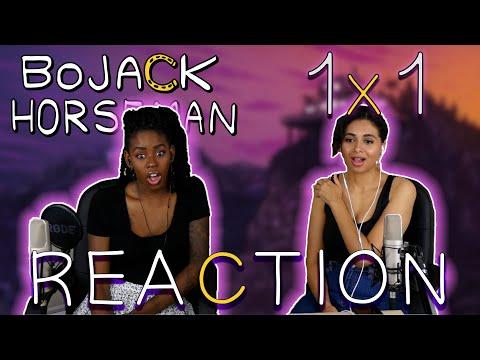 Bojack Horseman 1x1   The Bojack Horseman Story, Chapter One   REACTION!!