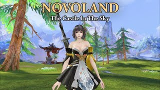 MMORPG Bahasa Inggris Baru! - Novoland: The Castle In The Sky (Android)