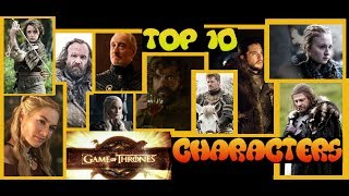 In anticipation of the Season 7 premiere tonight I talk about my personal top 10 favorite characters in all of Game of Thrones on HBO! FOLLOW ME ON FACEBOOK: https://www.facebook.com/BloodeeJacobOFFICIALFOLLOW ME ON TWITTER:https://twitter.com/BloodeeJacob