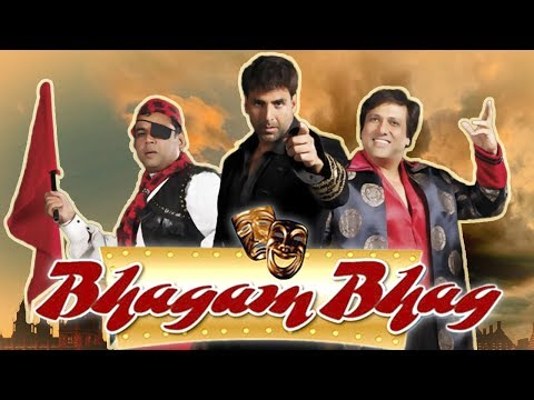 Bhagam Bhag 2006 (HD) - Full Movie - Superhit Comedy Movie - Akshay Kumar - Govinda -  Paresh Rawal