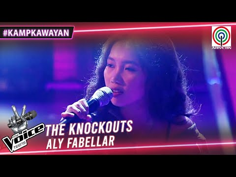 Aly Fabellar sings Banal na Aso, Santong Kabayo   The Knockouts   The Voice Teens Philippines 2020