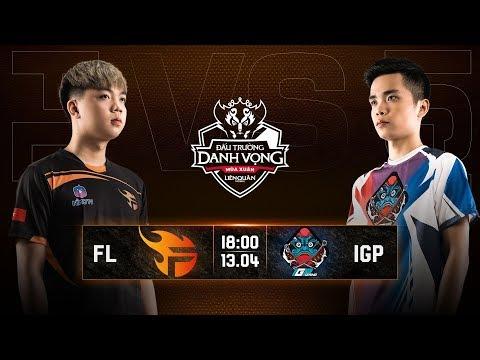 Team Flash vs IGP Gaming - Vòng 10 Ngày 2 - Đấu Trường Danh Vọng Mùa Xuân 2019 - Thời lượng: 1:05:27.