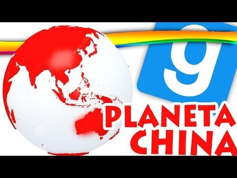GMOD, O PLANETA CHINA! Garry's Mod (видео)